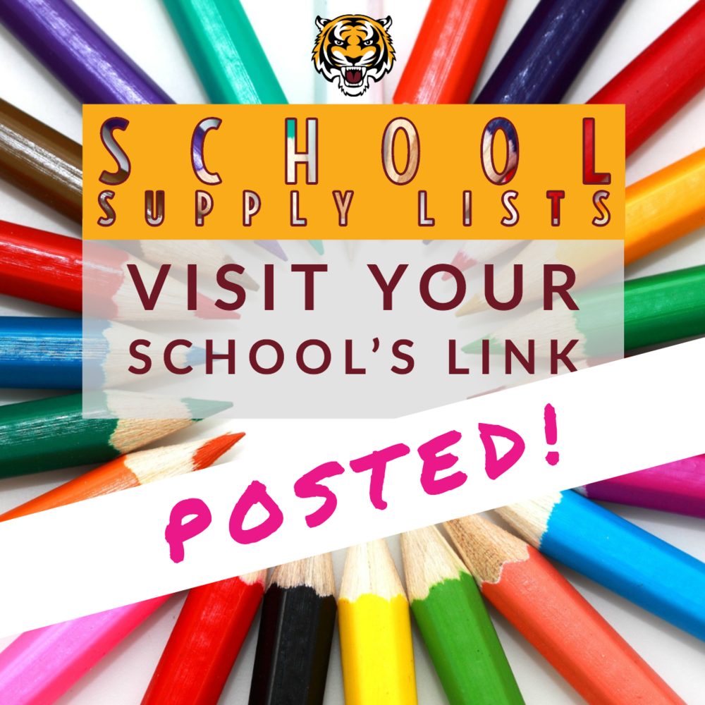 Your School's Supply Lists Are Posted and Easier Than Ever to Access!