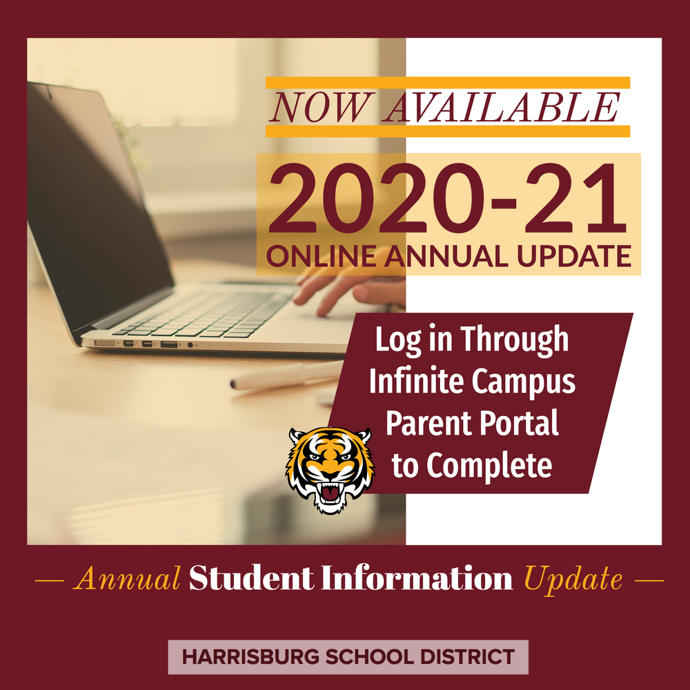 Have You Completed the Annual Information Update?
