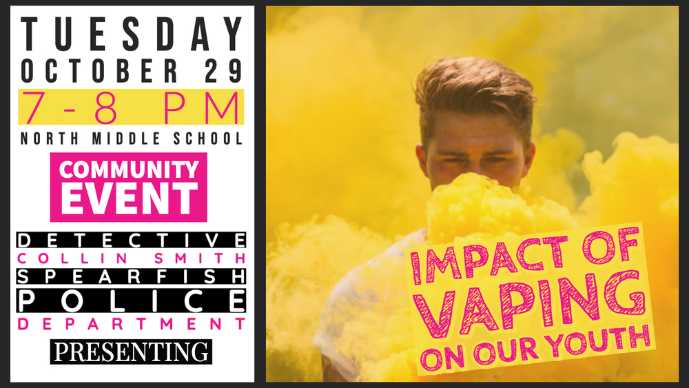 HARRISBURG SCHOOL DISTRICT PRESENTS COMMUNITY EVENT  ON DANGERS OF VAPING TO TEENAGERS