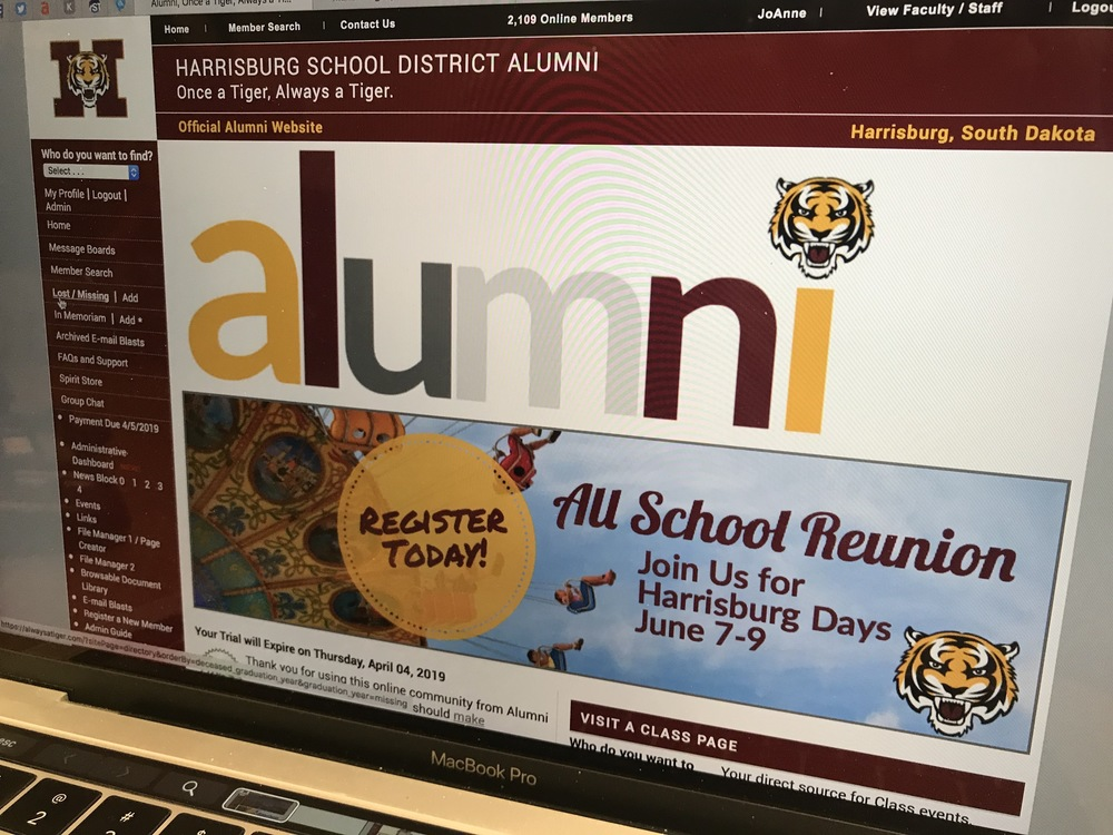 Always A Tiger.   Harrisburg School District Launches Online Alumni Community Solution to Connect with Alumni Across the World