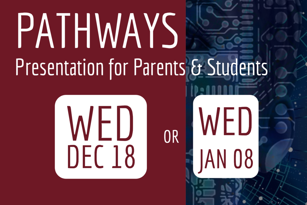 Preparing for High School: 8th Grade Parent/Student Informational Meetings