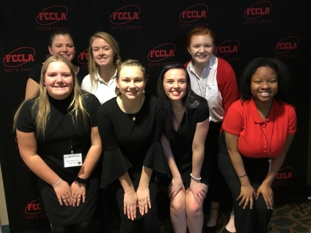 Harrisburg FCCLA Attends Leadership Training in Huron