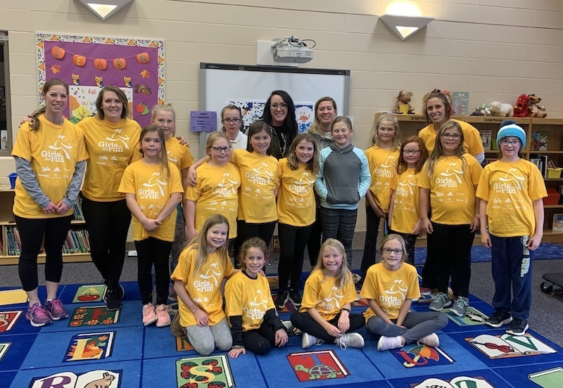 Harrisburg Explorer Elementary Completes Girls on the Run Season
