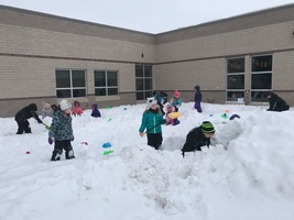 Snow-forts