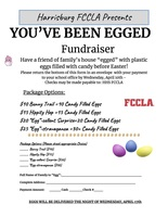YOU'VE BEEN EGGED Fundraiser