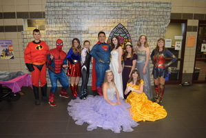 Supper with Superheroes & Pizza with Princesses
