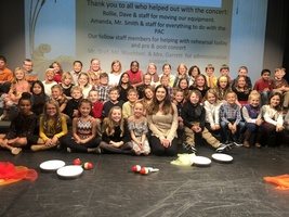 3rd Grade Thanksgiving Concert