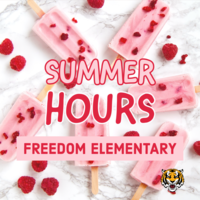 Freedom Summer Hours
