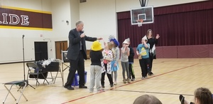 "Liberty Elementary Students Learn About the ""Magic of Recycling"""