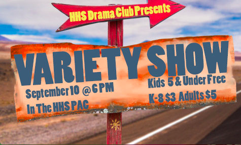 Variety Show Poster 2018