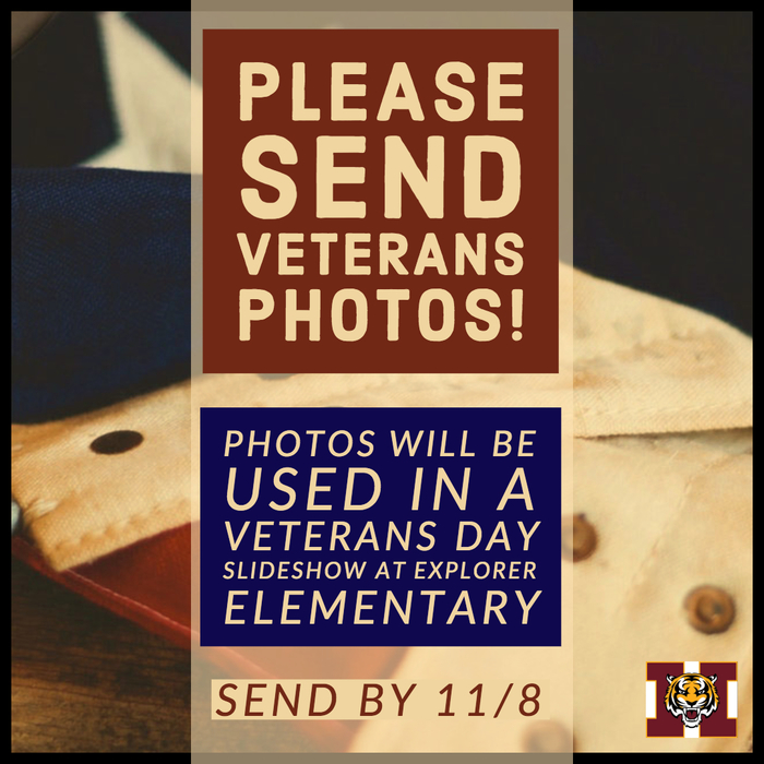 Please send Veterans Photos
