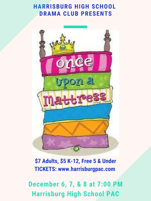HHS play - Once Upon a Mattress.
