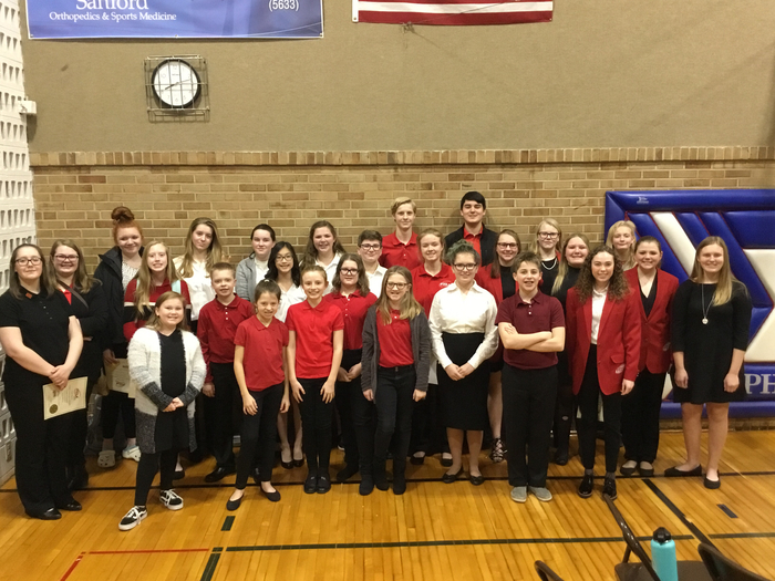 High and South Middle School FCCLA Members