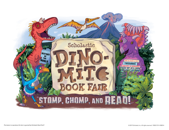 Journey's Dino-Mite Book Fair!