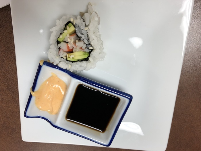 Delicious California roll