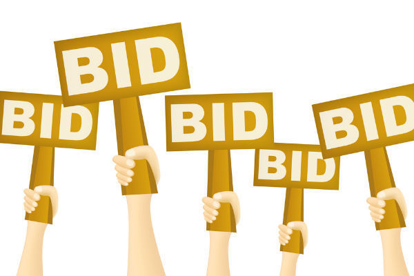 Silent Auction Bid Signs