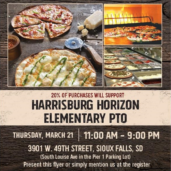 Pizza Rev Fundraiser