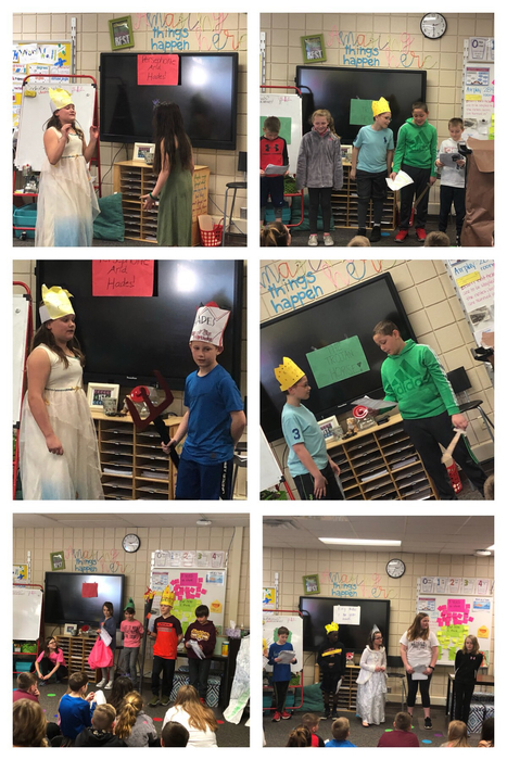 4D Greek Myths coming to life.