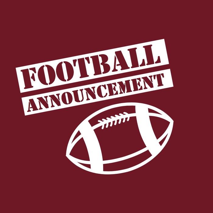 Football Announcement