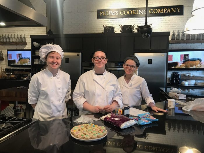 Culinary Arts / Prostart students at Plum's Cooking Company