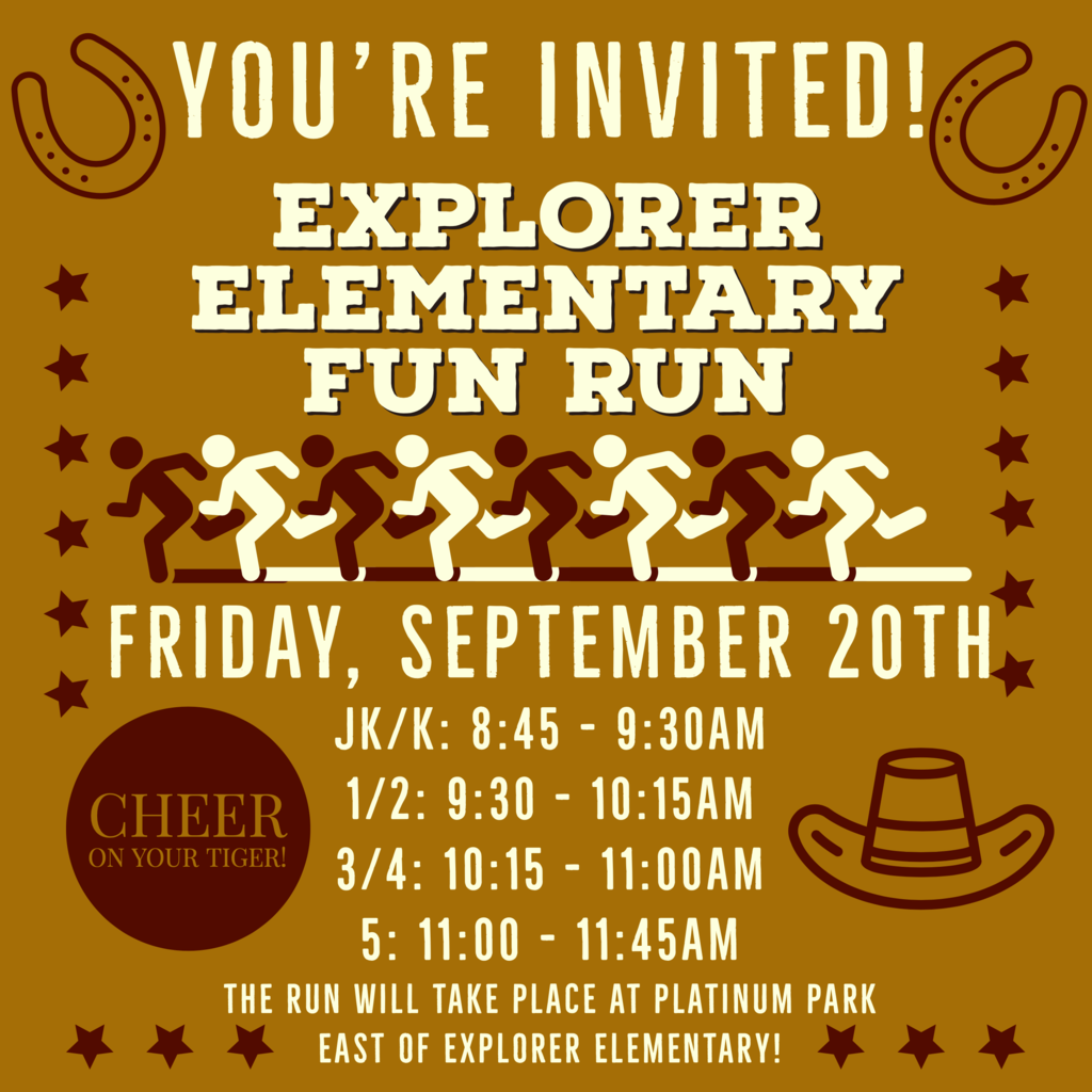 FUN RUN INVITE