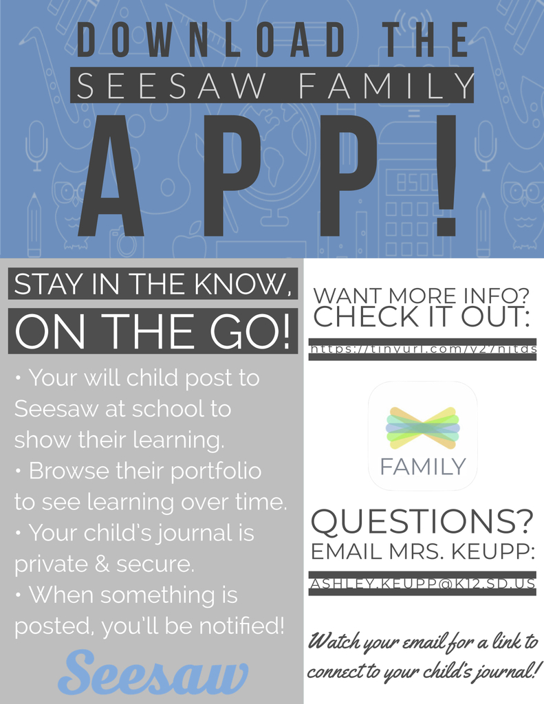 Download the Seesaw Family App