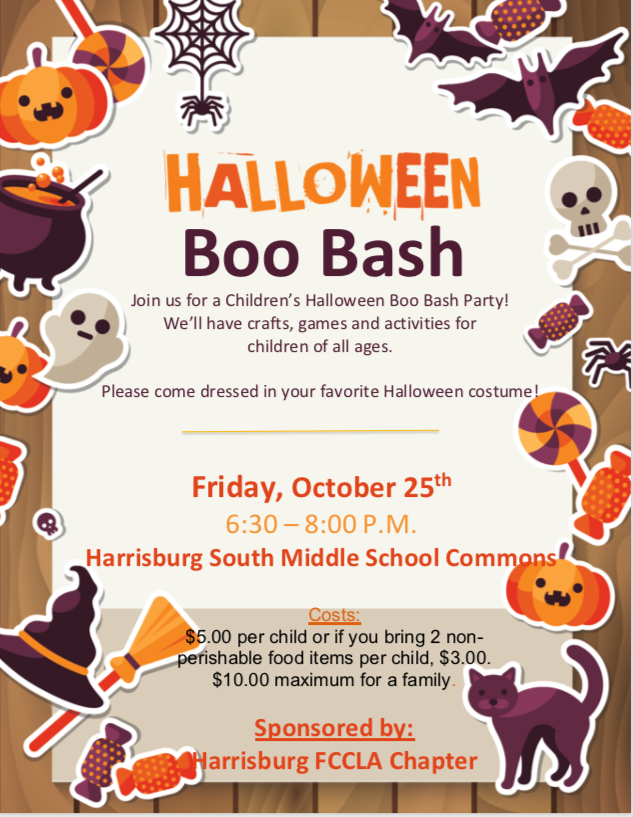 Boo Bash Flyer