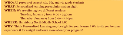 PL Parent Night