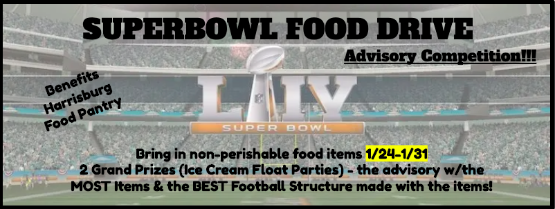 Superbowl Food Drive