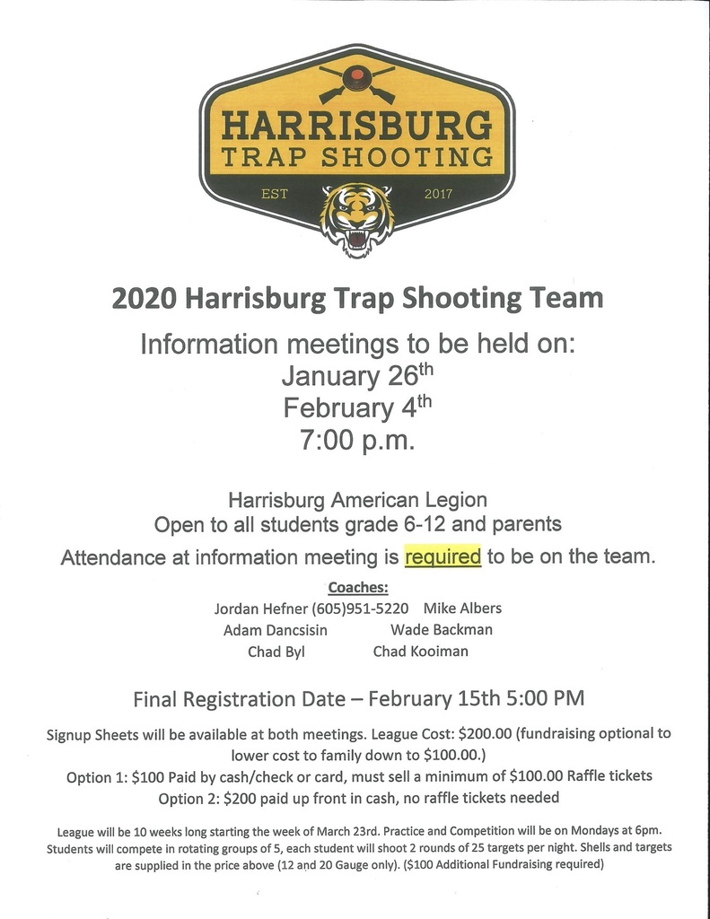 Trap Shooting Information