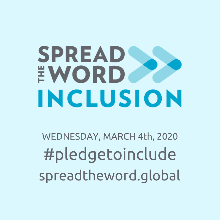Spread the Word: Inclusion