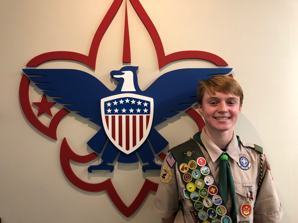 Congratulations to Alex J. on receiving the rank of Eagle Scouts!