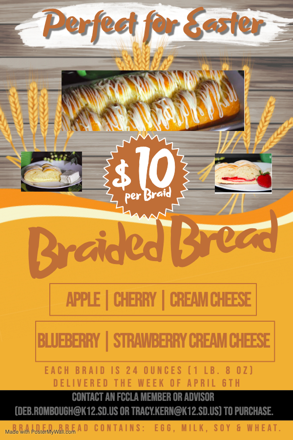 Braided Bread Flyer