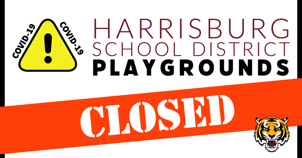 school district playgrounds closed