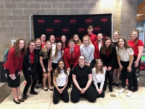 Harrisburg FCCLA Members Attend the Region VI FCCLA Meeting