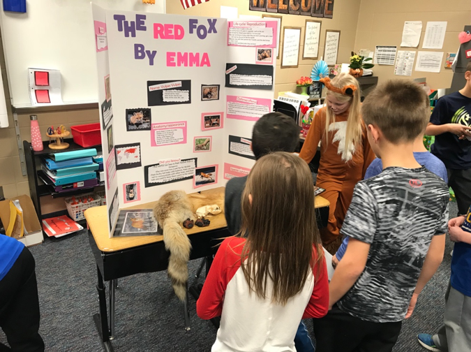 Endeavor 3rd Graders are Animal Experts