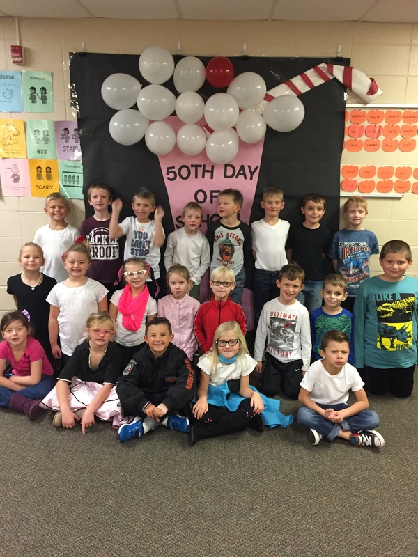 Liberty Celebrates 50th Day of School